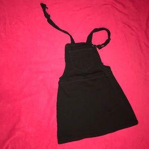 black skirt overall